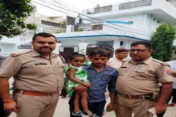 ढाई साल की मासूम चीकू को गाजियाबाद पुलिस के पारस ने 2 घंटे में खोजा