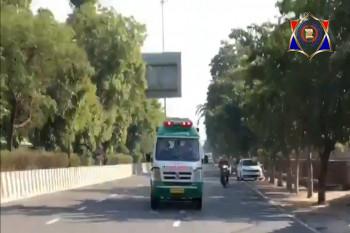 10 मिनट में DND पहुंचेगी एम्बुलेंस, यूपी ट्रेफिक पुलिस ने बनाया GreenCorridor