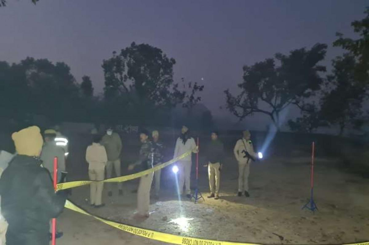 आगरा में फिर पुलिस और बदमाशों की मुठभेड़, 9 बदमाशों को किया गिरफ्तार