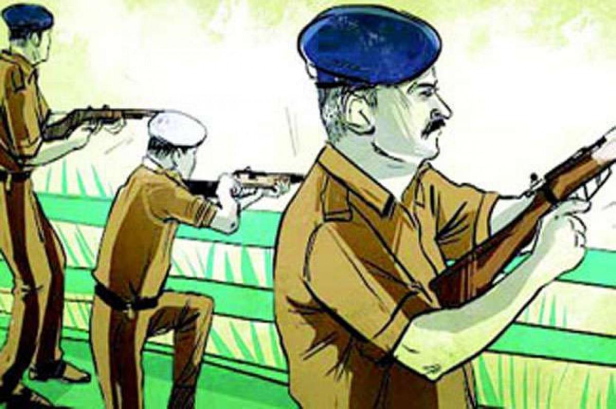 आगरा में फिर हुई देर रात बदमाशों से पुलिस की मुठभेड़, 6 बदमाश गिरफ्तार