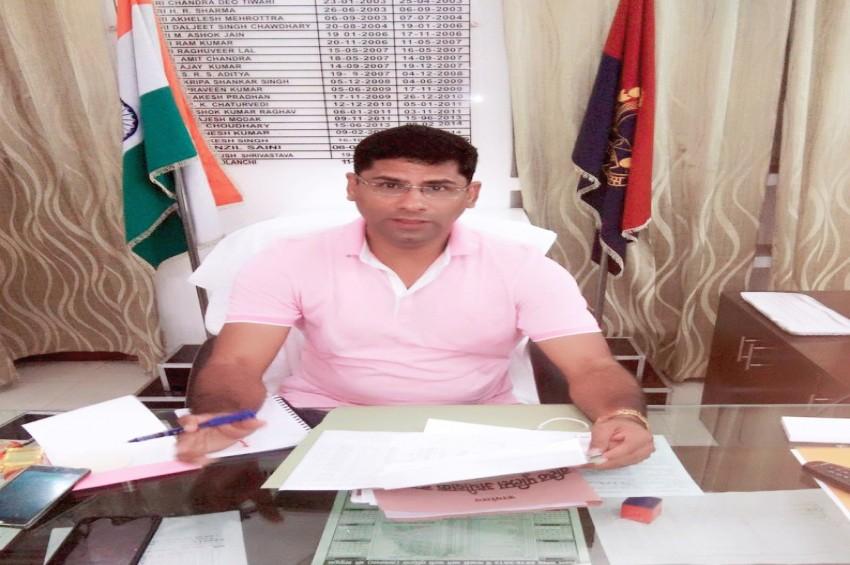 शिव हरि मीणा ने लिया रामपुर एसपी का चार्ज, जानिए कौन है शिव हरी मीणा...
