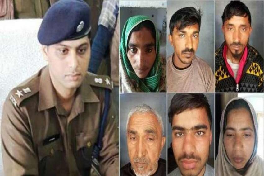सहारनपुर पुलिस के हाथ लगी बड़ी सफलता, गौकशी के 6 आरोपी चड़े पुलिस के हत्थे