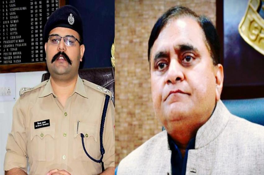 किसान यात्रा के दैरान कानून व्यवस्था बनाए रखने के लिए डीजीपी ने की गाजियाबाद पुलिस की सराहना
