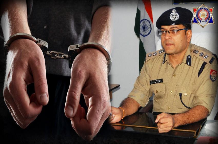 एसएसपी ने हिस्ट्रीशीटर बदमाशों को दिया दिवाली में ये उपहार