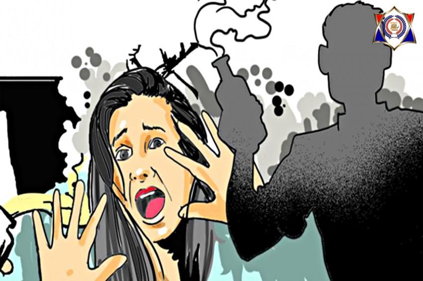 आरोपी ने दी दुष्कर्म पीड़िता को एसिड अटैक की धमकी