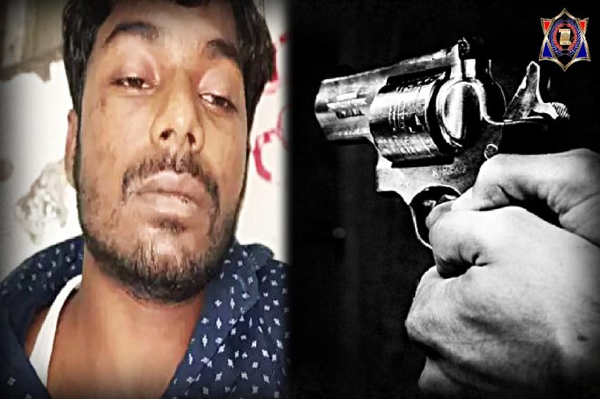 गोरखपुर पुलिस के हत्थे चढ़ा 25 हजार का इनामी धीरज पासवान