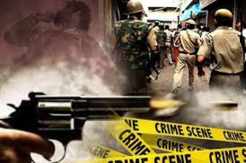 पुलिस और बदमाशों की बीच मुठभेड़, 6 बदमाश गिरफ्तार