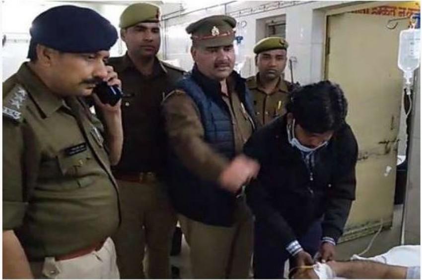 सपा नेता की बेटी से प्रेम विवाह करने पर युवक को मारी गोली