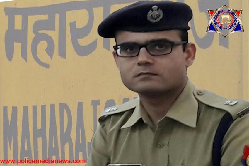 महाराजगंज की कमान अब युवा IPS रोहित सिंह सजवान के हाथों में