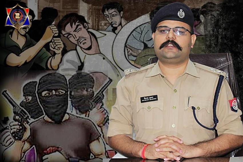 ताबड़तोड़ 3 लूट की वारदातों के साथ हुआ गौतमबुद्धनगर के नए SSP वैभव कृष्ण का स्वागत