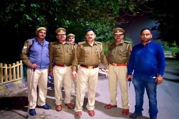 एनकाउंटर अजय के जिले में एक बार फिर चली पुलिस और बदमाशों के बीच गोलियां