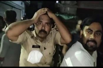 बहराइच: सिरफिरे युवक ने पुलिस टीम पर बरसाए पत्थर, बेहोश हुए दरोगा समेत 9 पुलिसकर्मी घायल