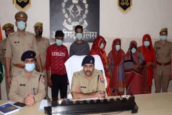 यूपी पुलिस की गिरफ्त में आई लेड़ी नटरवाल... जानिए कैसे चुना लगाकर कर रही थी 5 जगहों पर नौकरी