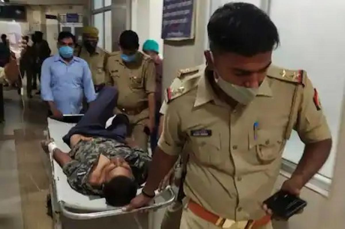 पुलिस कमिश्नर ए सतीश गणेश की टीम से मुठभेड़ में 50 हजार का इनामिया डकैत वीरेंद्र घायल