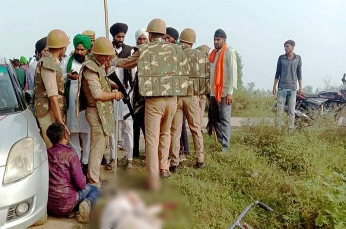 लखीमपुर मामले में अब BJP नेता सुमित जायसवाल की तहरीर पर 10 से 15 अज्ञात के खिलाफ UPPOLICE ने दर्ज की FIR
