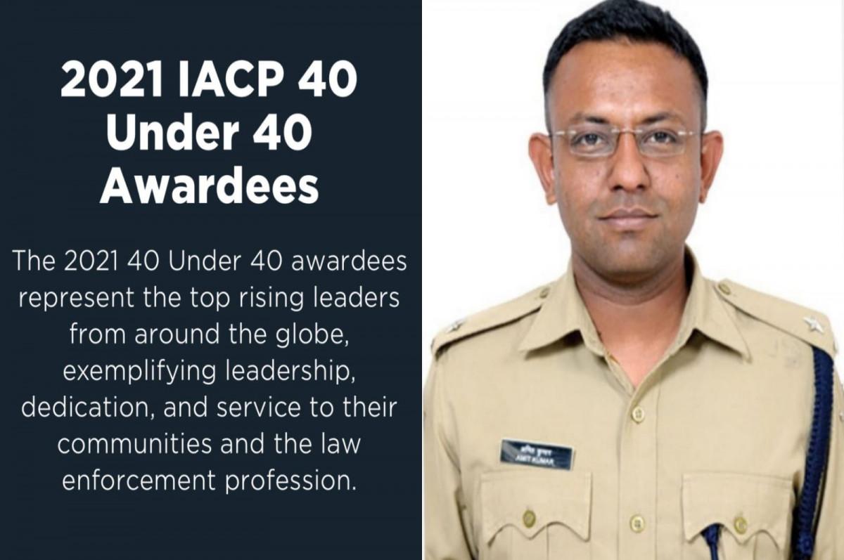CHANDAULI: SP अमित कुमार को मिलेगा IACP अवार्ड, जानिए इसके पीछे की वजह