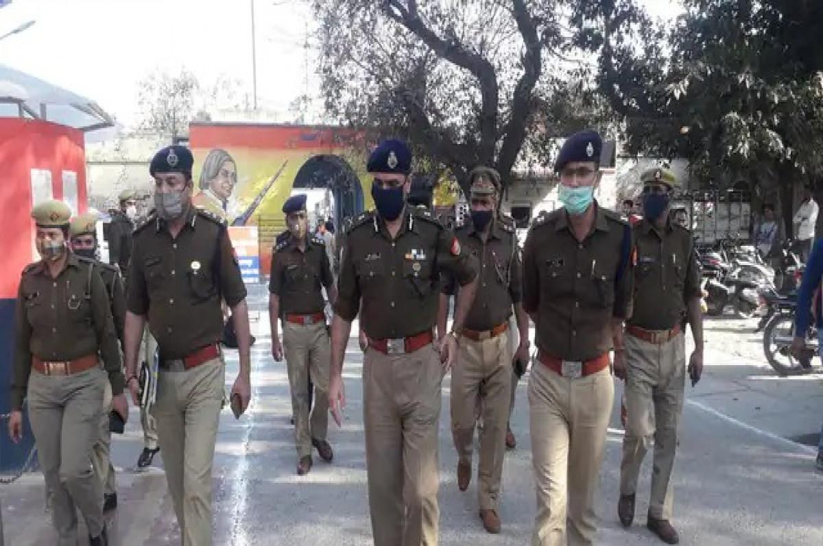 देवबंद में महिला रिपोर्टिंग पुलिस चौकी बनकर तैयार, ADG मेरठ रेंज ने किया निरीक्षण