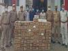 कुशीनगर: पुलिस को मिली बड़ी सफलता, 40 गत्ता अवैध अंग्रेजी शराब बरामद, चार तस्कर गिरफ्तार