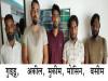 UP STF को मिली बड़ी सफलता...5 तस्करों को गिरफ्तार कर ढाई करोड कीमत का गांजा किया बरामद